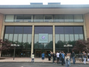 L'entrée de Bell Labs